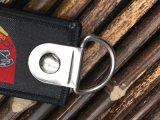 Corrente chave tecida tela com correção de programa do bordado