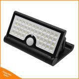 42 de la luz solar plegable LED Sensor de movimiento PIR Jardín luz de pared