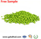 Colore verde Masterbatch dei pp per coloritura di plastica della capsula