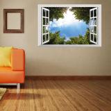 Etiqueta engomada de la pared/mural movibles de la pared - paisaje, animal, historieta, decoración creativa del hogar de la opinión de la ventana/decoración de la pared