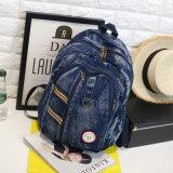 Schoolbag occasionnels sac à dos Sac à dos Sacs de l'école adolescent Denim