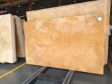 부엌을%s 마노 오닉스 황색 대리석 석판 또는 목욕탕 또는 벽 또는 지면