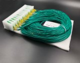 Pon/LAN/FTTX를 위한 Gpon 원거리 통신 1X64 PLC 쪼개는 도구 Lgx 상자