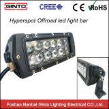 트럭을%s Ginto 180W 32.5inch 4D 렌즈 4X4 LED 표시등 막대