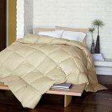 El 100% abajo, shell 100% del algodón con el edredón cosido rectángulo