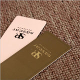 Hot-Sale Hangtag de cuero/Hang Tag/colgar la ropa de etiqueta