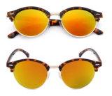 Moda Submetallic óculos de sol com a marca do OEM