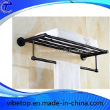 Шкаф полотенца кольца полотенца черноты ванной комнаты нержавеющей стали