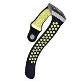 Pulsera de reloj caliente del silicón para Fitbit iónico, venda de reloj de goma para el reloj de Fitbit