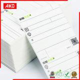 Escrituras de la etiqueta adhesivas de moda del correo del fabricante de la escritura de la etiqueta de la etiqueta engomada del OEM de la fábrica directa