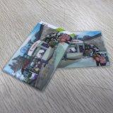 Suporte de cartão conhecido relativo à promoção do PVC, com tamanho e projeto feitos sob encomenda