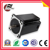 Motor de piso NEMA34 pequeno da vibração 86*86mm do ruído para a máquina do CNC
