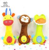 Juguete chillón animal del perro de juguete de la felpa del animal doméstico