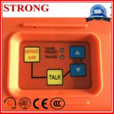 Système d'interphone pour la communication d'urgence sur la construction d'un palan