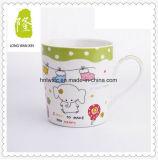 De in het groot 11oz Duidelijke Witte Ceramische Kop Van uitstekende kwaliteit van de Melk