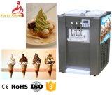 Yogurt molle di Forzen della macchina del gelato di servire di piano d'appoggio di sapore di Bq322A 3 (torsione 2+1) che fa macchina