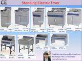 Friteuse électrique commerciale de gaz de friteuse d'acier inoxydable