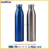 Logotipo personalizado Venta caliente botella de agua de acero inoxidable