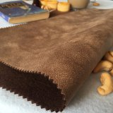Tessuto bianco del velluto della pelle scamosciata per il sofà dal fornitore della Cina