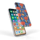 Tampa de telefone personalizado IMD com metade a impressão de fronteira para iPhone x