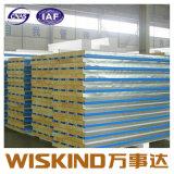 中国の多彩な鋼板のミネラルウールサンドイッチパネル