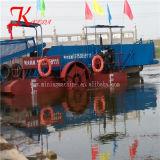 آليّة برمائيّة مادّيّة بحيرة [ويد] [هرفستر/] عشب يجمع سفينة
