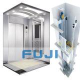 De Lift van de Lift FUJI 6passengers met Hairline Cabine van het Roestvrij staal