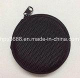 Coque rigide ronde étanche des écouteurs de stockage EVA Cas d'emballage de voyage