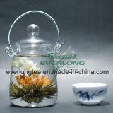 중국 Handmade 예술적인 차, 꽃송이 차, 꽃이 만발하는 차, 주문을 받아서 만들어진 선물 포장 (BT003)를 가진 개화 차 공