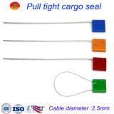 selo galvanizado ajustável do cabo de fio de 2.5mm para o selo de travamento automático do recipiente do caminhão/do cabo transporte inalterável