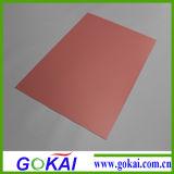 Feuille rigide/panneau de PVC des prix bon marché 0.8mm pour le panneau mural