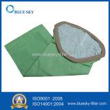 Зеленый пылевой фильтр мешок для домашнего хозяйства и управления вакуумом