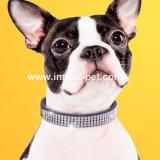 Haustier-Zubehör Reshinestone Hundeprodukte KristallBling Hundehalsring