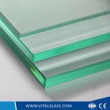 стекло ясности от 3 до 12mm закаленное/Toughened для стекла здания