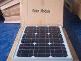 mono modulo solare 30W per il sistema di energia solare di fuori-Griglia