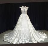 Конструкции прибытия Aoliweiya 2017 платье венчания шнурка новой шикарное