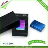 Accenditore di arco elettronico più chiaro di fumo del metallo dell'accenditore del USB di abitudine all'ingrosso