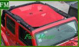 O parasol tampa de malha de proteção UV para Jeep Wrangler Jk 2007-2017