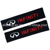 La cintura di sicurezza dell'automobile di infinità copre il poliestere di accoppiamenti dei rilievi di spalla