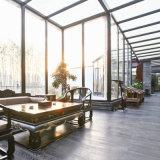 Sunroom della lega di alluminio con vetro d'isolamento
