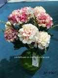 Garofano artificiale/di plastica/di seta Bush (XF-FD07) del fiore
