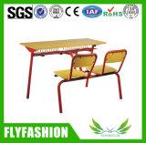 Escritorio y silla dobles (SF-09D) de la escuela