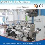 Tubulação plástica do HDPE PPR que faz a máquina, extrusora da tubulação de fonte da água