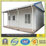 Maisons modulaires de coût bas dans le chantier