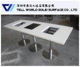 Jogo quente da tabela do potenciômetro da mobília moderna do restaurante do estilo
