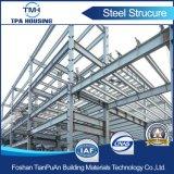 Fexible ha prefabbricato il magazzino della struttura d'acciaio di disegno