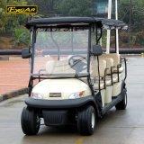 雨カーテンが付いている11 Seaterのゴルフカートの小型電気自動車