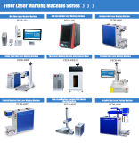 Botão de marca auricular e Animal máquina de marcação a laser de fibra