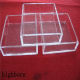 Ontruim de Gesmolten Container van het Glas van het Kiezelzuur
