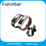 Monitor de freqüência cardíaca de desporto a pressão arterial de oxigênio arterial Pulseira Bracelete Inteligente Bluetooth